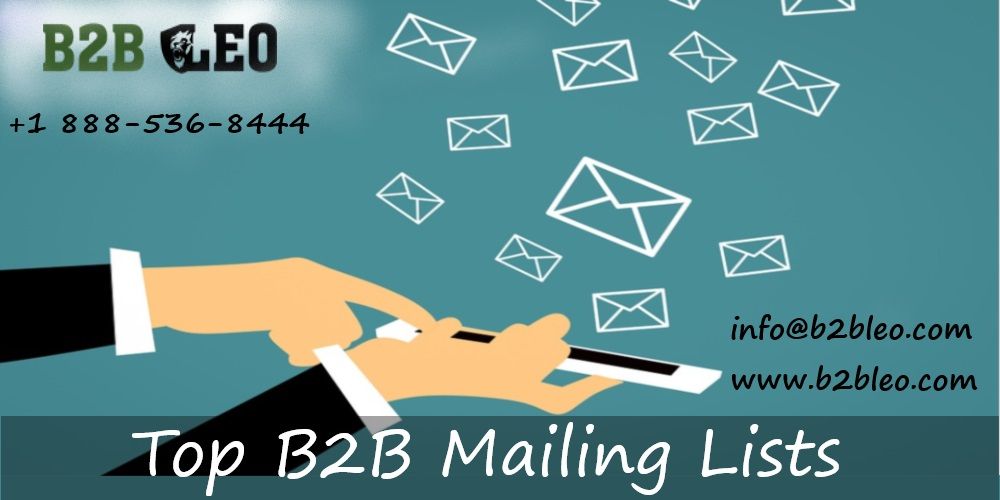 Lead Generaion with B2B Mailing Database