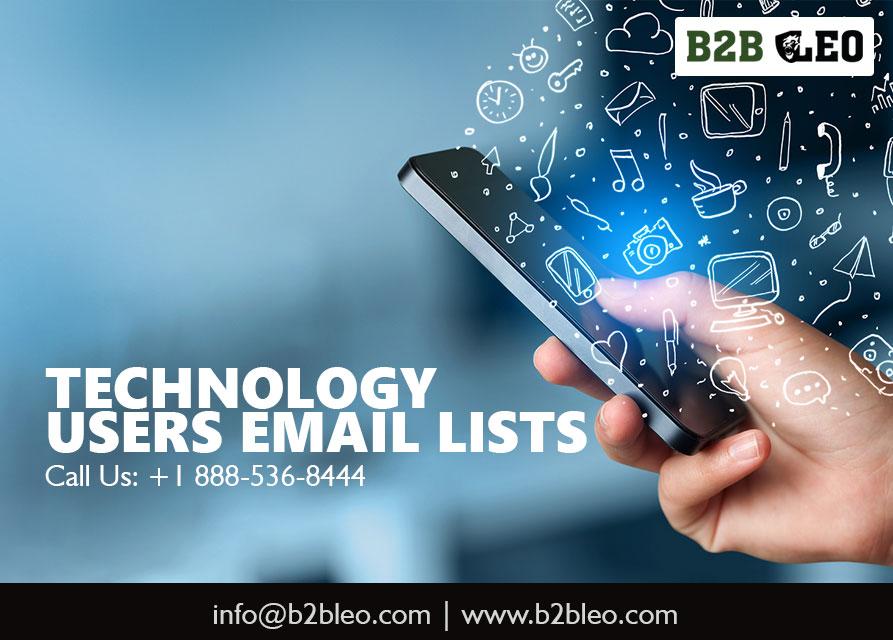 Technology Users Lists